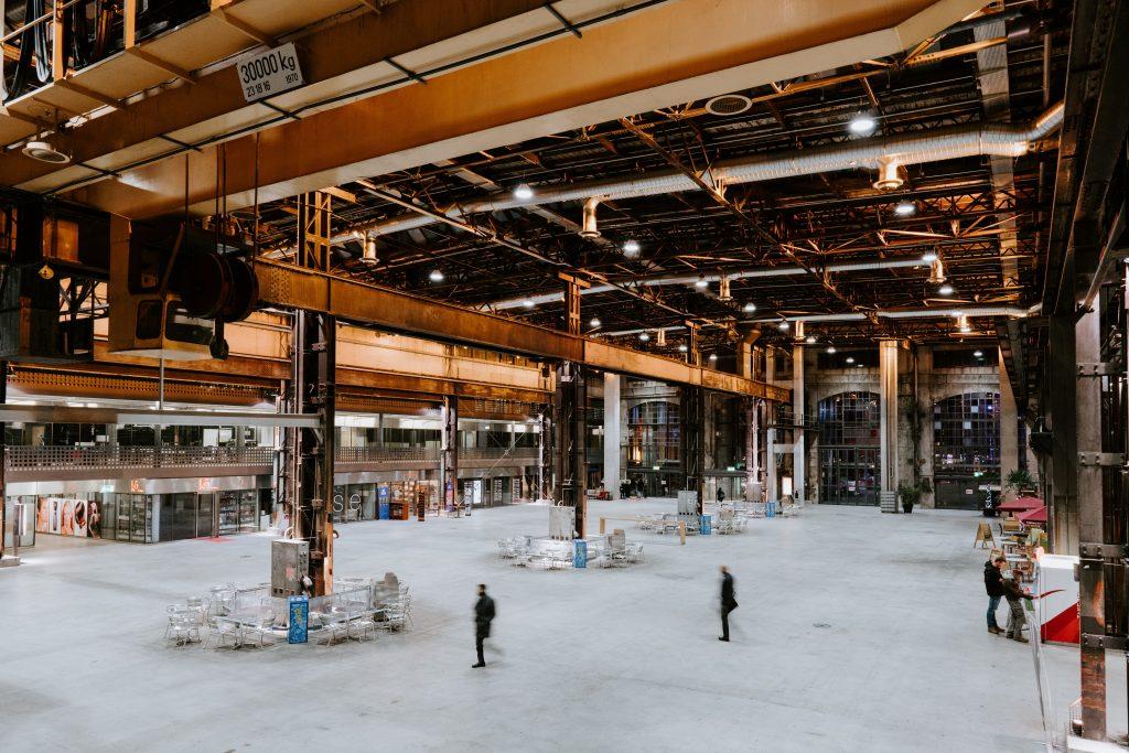 Déménager site industriel